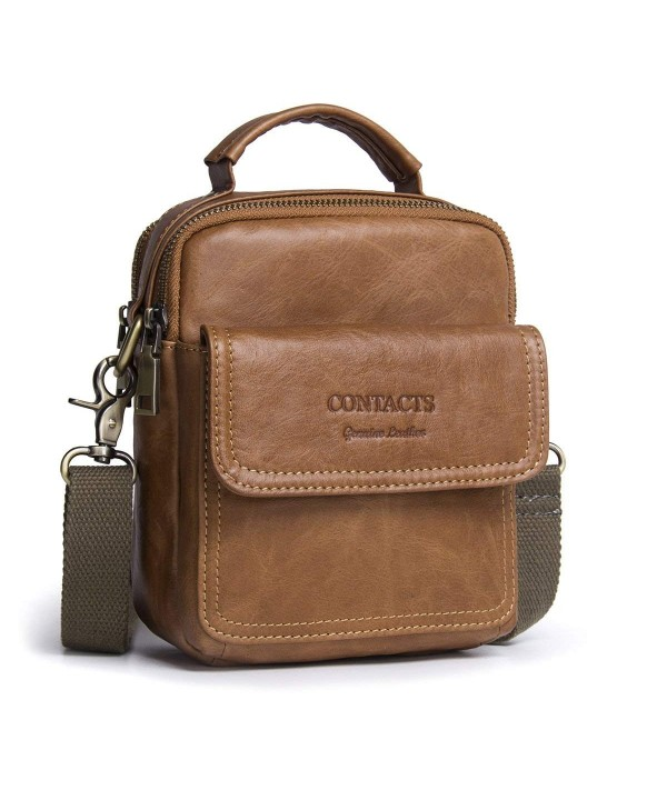 Contacts Genuine Crossbody Single Shoulder Messenger