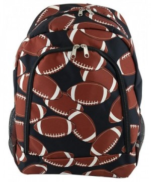 NBN 31 Backpack Football Pattern Design
