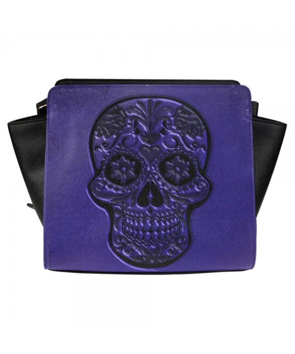 Interestprint Satchel Skull Women Shoulder