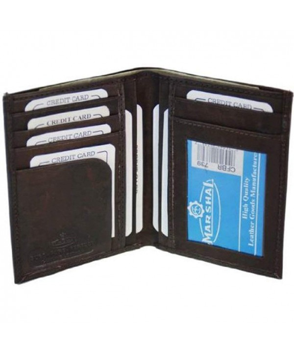 Bi fold Leather Wallet Credit 739CF
