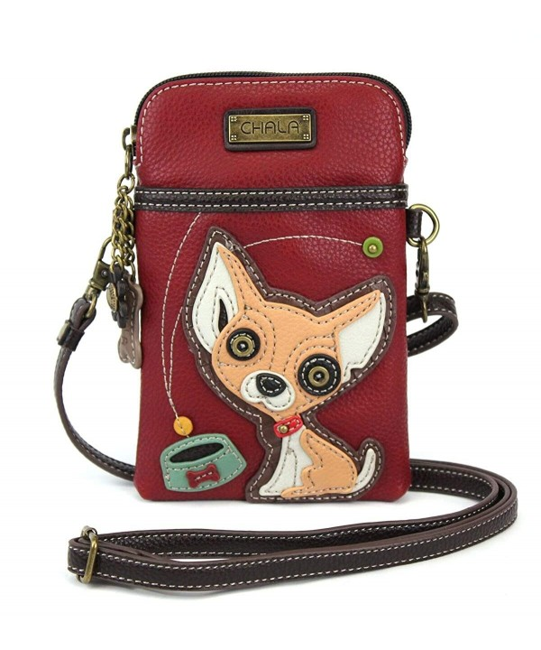 Chala Phone Crossbody Handbag Chihuahua