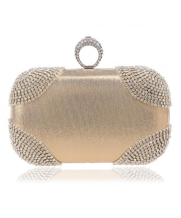 EPLAZA Rhinestone Evening Handbags Wedding