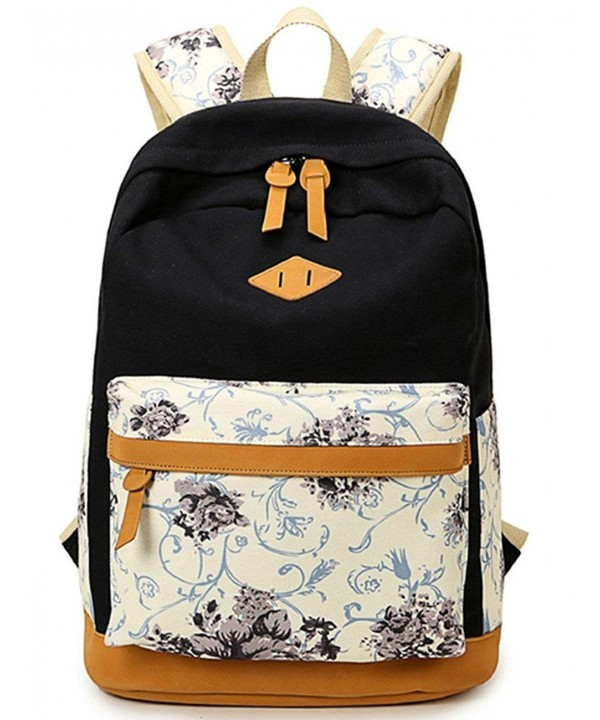 Canvas Backpack Casual BookBag Daypack