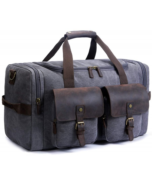 SUVOM Leather Weekend Oversized Holdalls