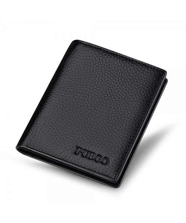 Leather Bifold Multifunctional Genuine Wallet
