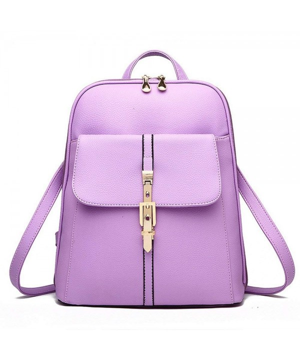 1dd0a68a5852 ... Women Girl Vintage Pu Leather Shoulder Bag Fashion Student Backpack -  Taro Purple - CG12N0BLXRZ. On sale! New. XIN BARLEY Vintage Shoulder  Backpack