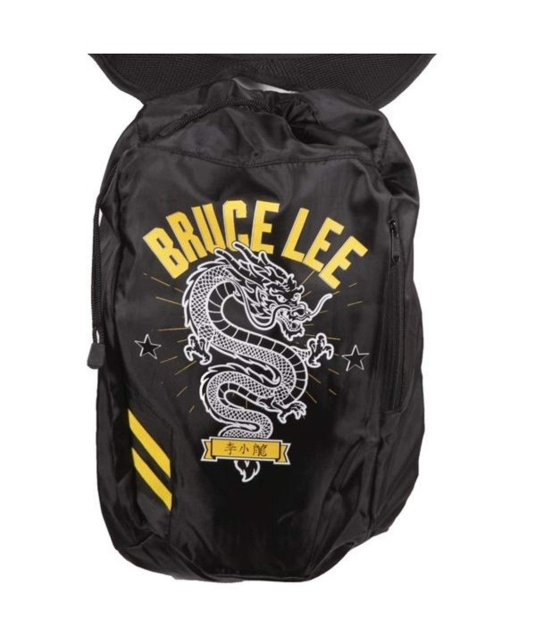Bruce Lee Company Drawstring Backpack