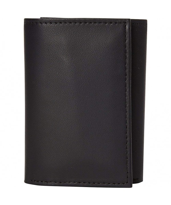 Buxton Ridgewood Three Fold Wallet Black