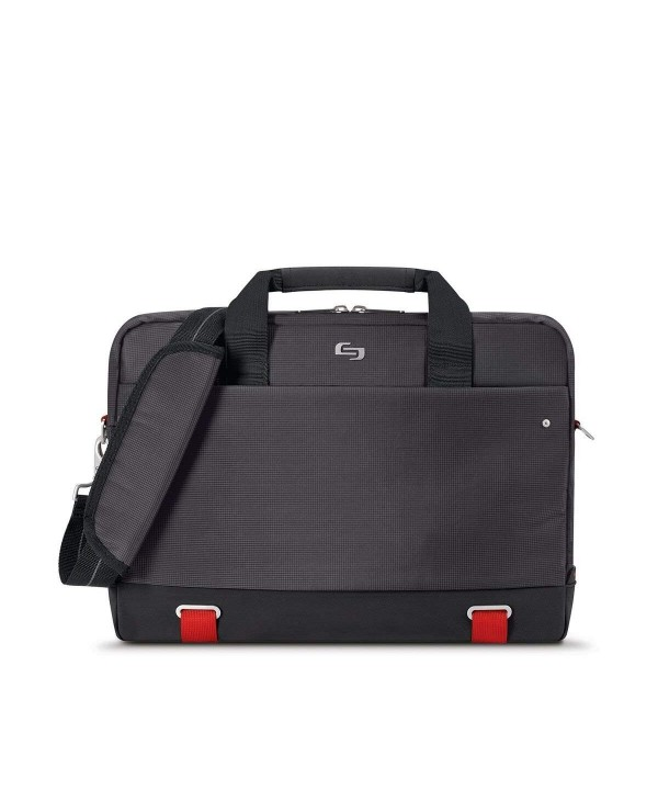 Aegis Laptop Briefcase Pocket Black