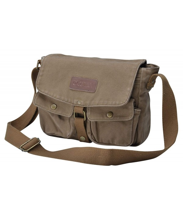 Gootium Canvas Messenger Bag Crossbody