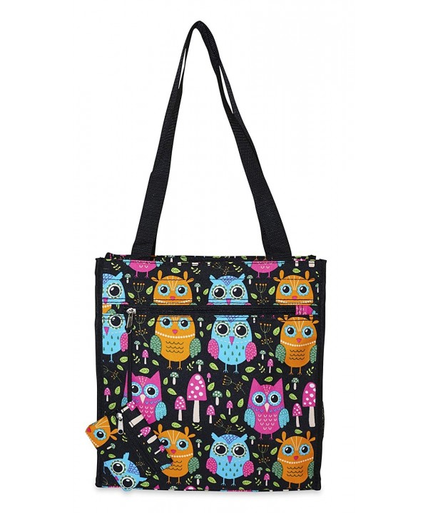 Ever Moda Owl Tote Bag