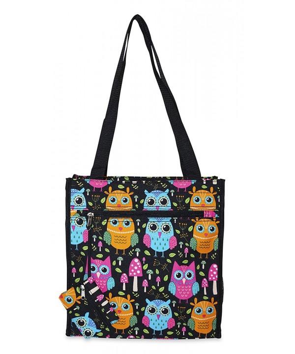 Ever Moda Owl Tote Bag