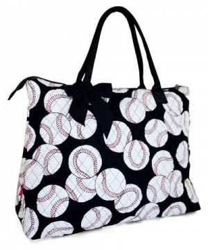 Quilted Baseball X Large Tote Bag