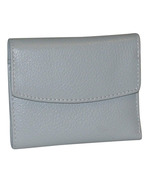 Buxton Womens Leather Tri fold Wallet