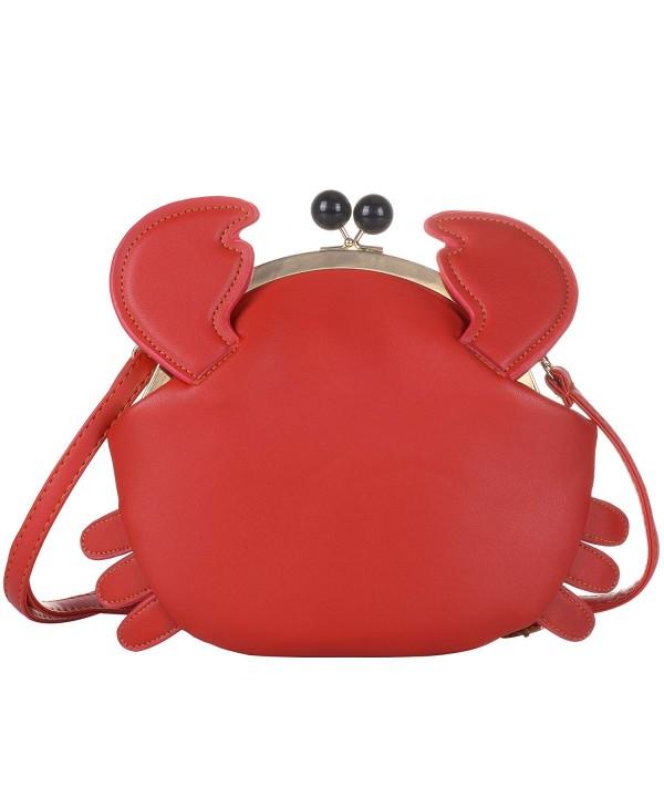 QZUnique Closure Handbag Satchel Shoulder