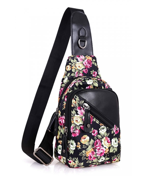 Leaper Messenger Travel Shoulder Floral