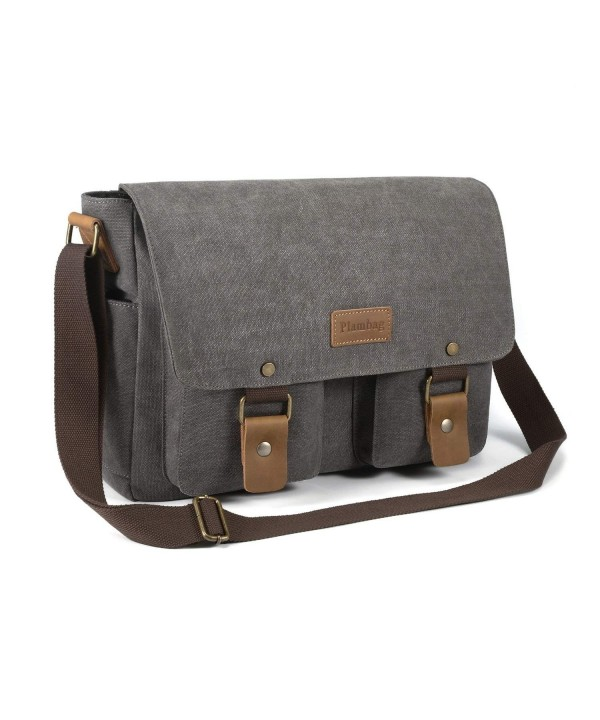 Plambag Canvas Messenger Shoulder Crossbody