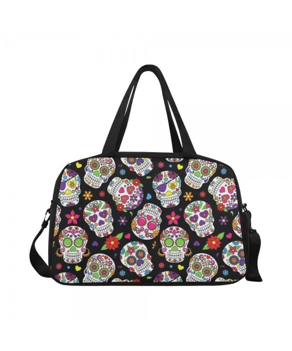 InterestPrint Muertos Travel Duffel Sports