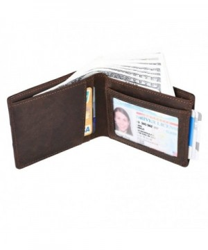 IDEAWIN Bifold Blocking Genuine Leather
