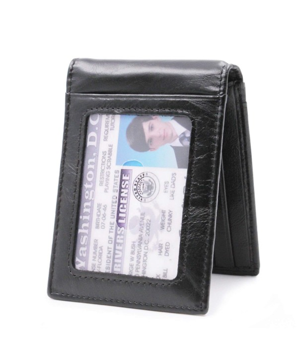 Bifold Wallet Minimalist Pocket Credit