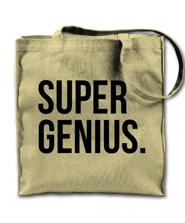 Genius Natural Canvas Shopping Shoulder