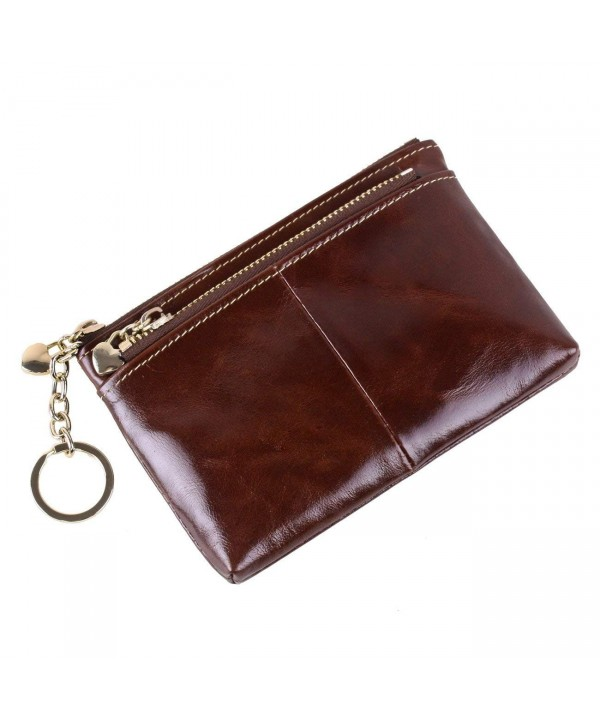 Womens Leather Holder Compact Pocket