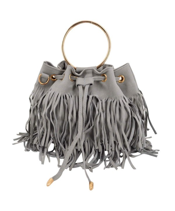 Heidi Fringed Shoulder Top Handle Crossbody