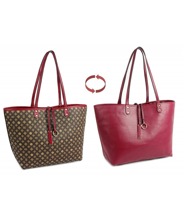 Shoulder Reversible Leather Ladies Handbags