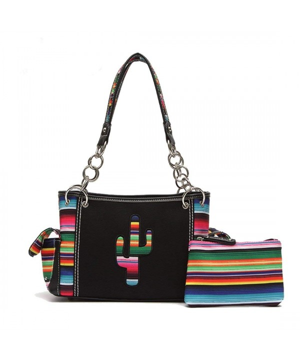 Multi Colored Serape Concealed Shoulderbag Cosmetic