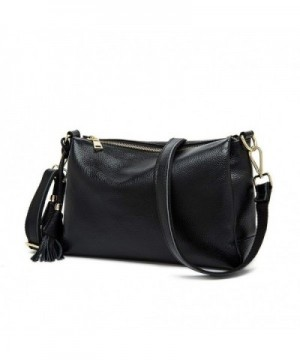 Envelope Genuine Leather Crossbody Messenger