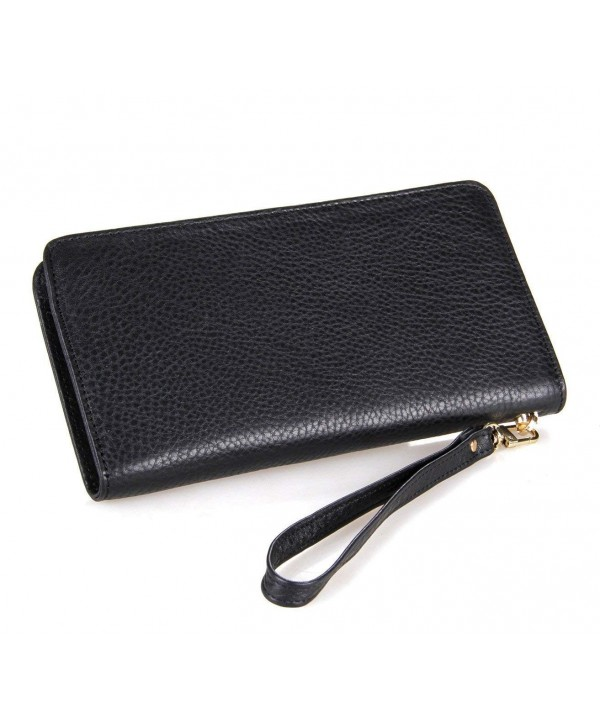 DRF Clutch Wallet Leather Wristlet