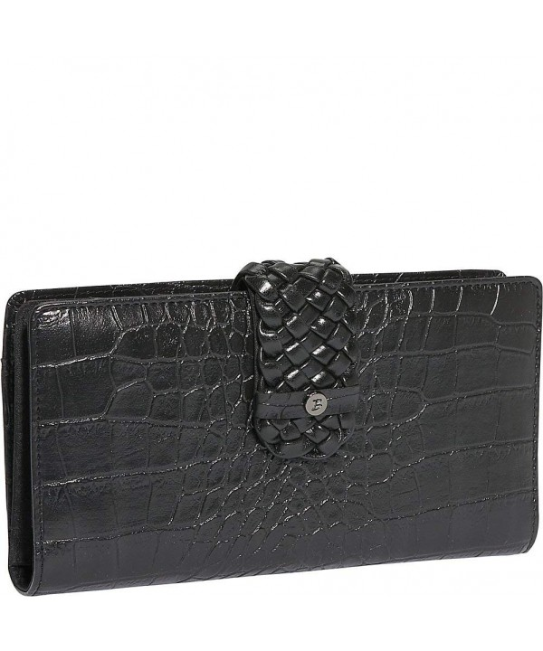 Buxton BL116W24NB BK Everglades Superwallet Black