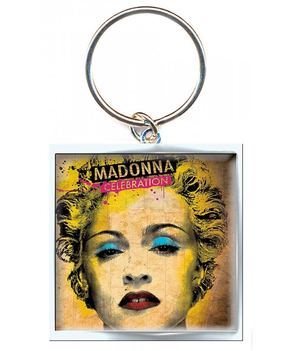 Madonna Keyring Celebration One Size