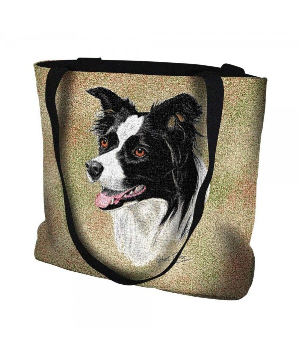 Border Collie Tote Bag 17