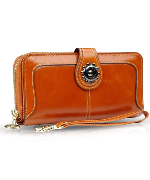 URBST womens wallet Capacity Leather