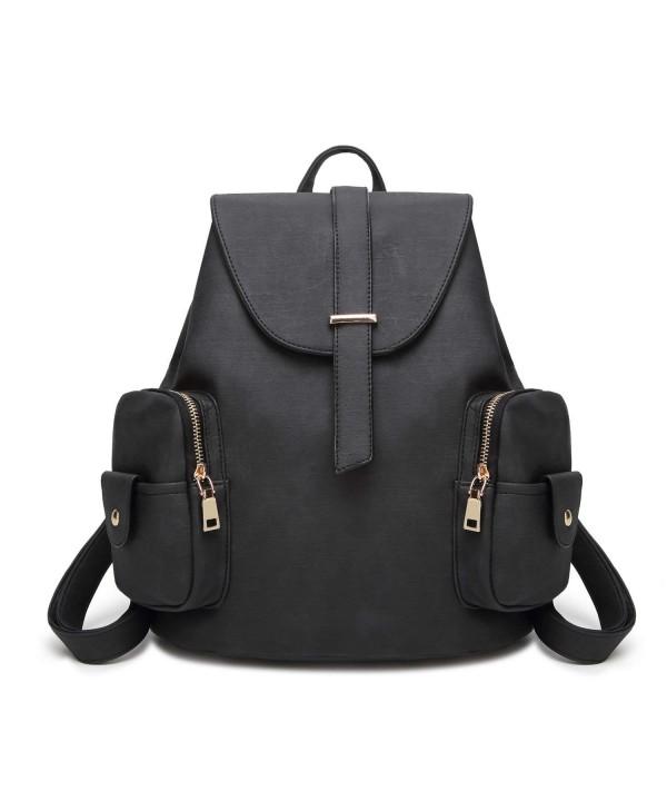 Waterproof Leather Backpack Shoulder Multifunction