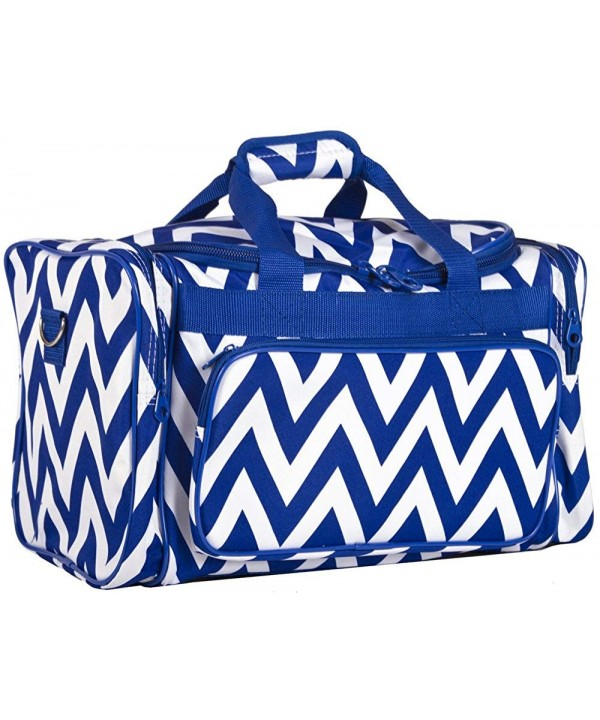 Ever Moda Chevron Medium Duffle