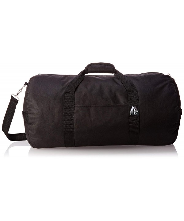 Everest 23 Inch Round Duffel Black