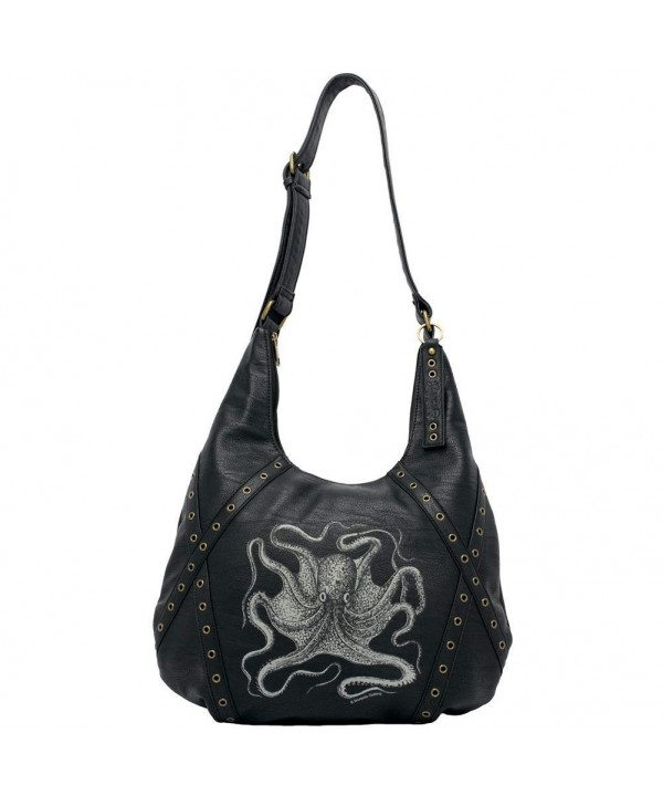 Sourpuss SPPU6BLK NS Octopus Purse