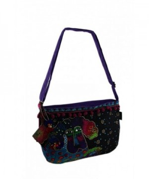 Laurel Burch Crossbody Handbag Poodle