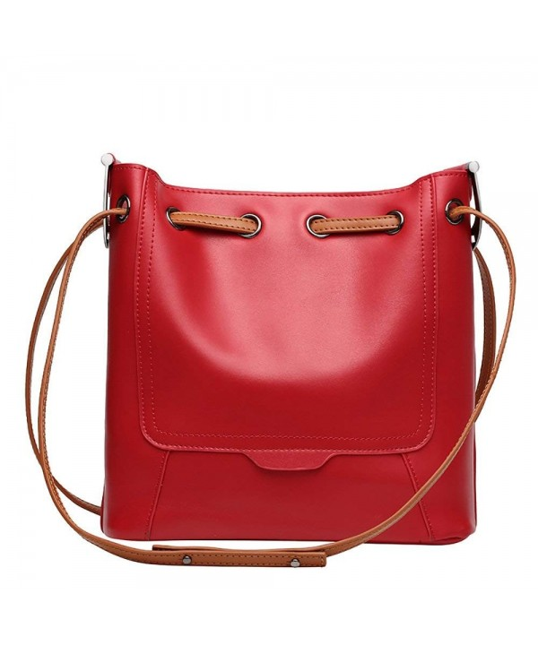 Genuine Leather Shoulder Crossbody Top handle