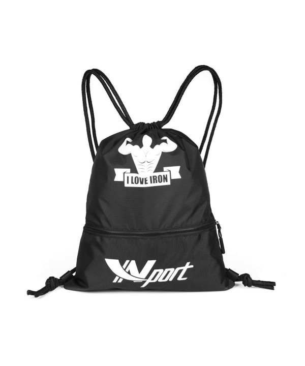 Ynport Training Drawstring Sackpack Backpack
