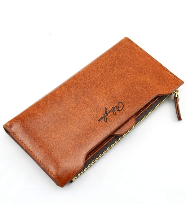 Pidengbao Womens Zipper Clutch Wallet