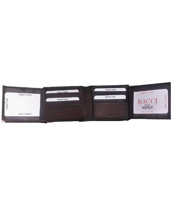 GENUINE Quality LEATHER Bifold WALLET