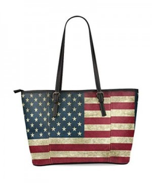InterestPrint Vintage American Shoulder Handbags