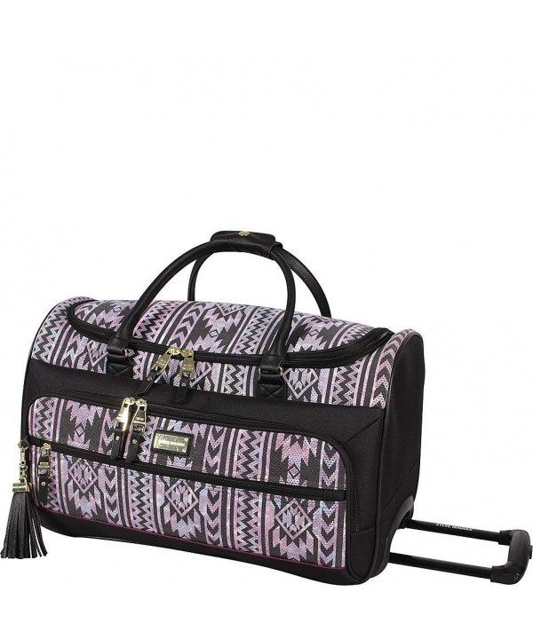 Steve Madden Luggage Wheeled Satchel