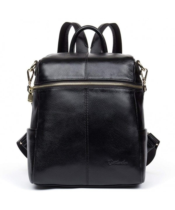BOSTANTEN Geniune Leather Fashion Backpack
