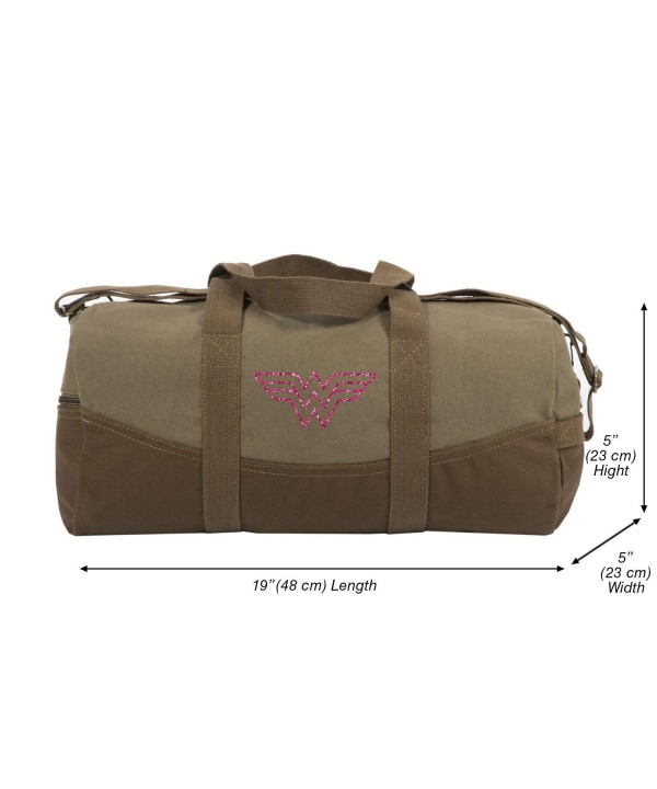 Wonder Symbol Canvas Duffel Glitter