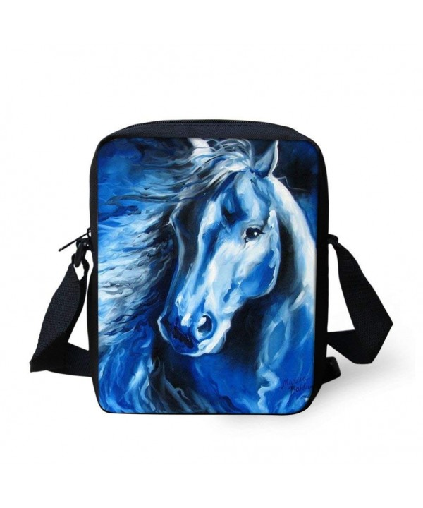 Bigcardesigns Horse Women Messenger Crossbody