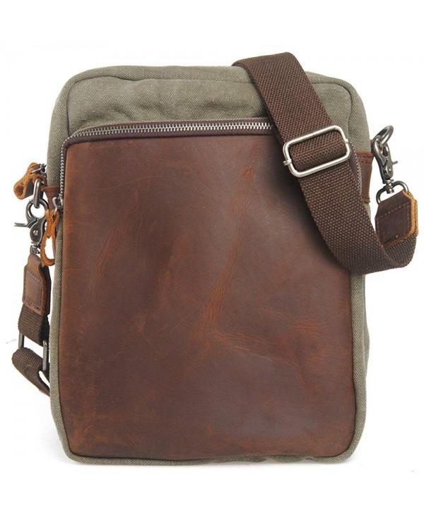 Genuine Crazy horse Leather Shoulder Handbag